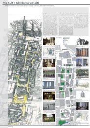 Via Culturalis Planungsergebnis 1 - Masterplan Köln