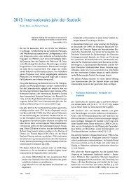 2013: Internationales Jahr der Statistik - Fakultät für Mathematik - KIT