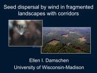 Ellen Damschen - University of Miami