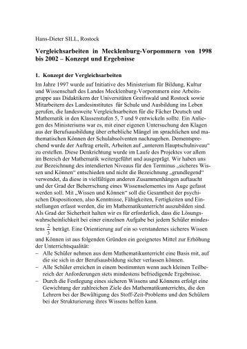 Gabriele KAISER, Hamburg - Fachbereich Mathematik der ...