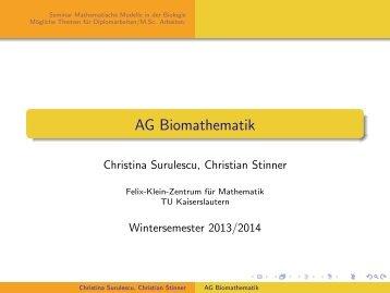 AG Biomathematik