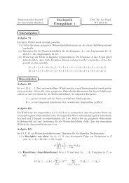 Blatt 1 - Mathematisches Institut der Ludwig-Maximilians-Universität ...