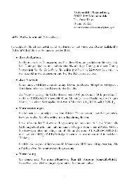 Universität Regensburg NWF I Mathematik • Ihre Aufgaben • Ihre ...