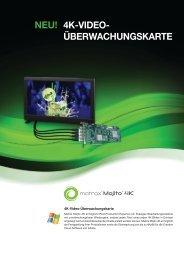 4K-Video-Überwachungskarte - Matrox Mojito 4K
