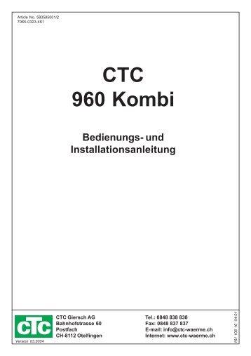 CTC 1200 - CTC Heizkessel
