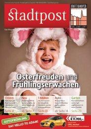 Stadtpost Ostern 2013/Teil 1 - Mattighofen erleben
