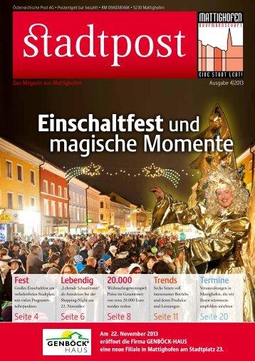 Stadtpost - Mattighofen erleben