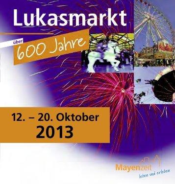 Lukasmarkt-Heft - Mayen