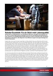 PDF - Roboter-Exoskelett - Maxon Motor