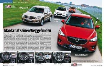 Mazda hat seinen Weg gefunden - Mazda AutoLand in Frankfurt