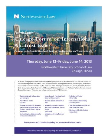Fourth Annual Chicago Forum on International ... - Mayer Brown