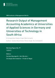 Research Output of Management Accounting Academics at ...