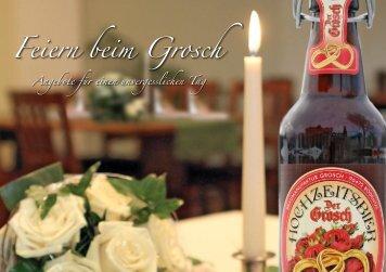 Feiern beim Grosch - Braugasthof Grosch