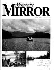 volume 19 / number 1 / september, 1989 - Canadian Conference of ...