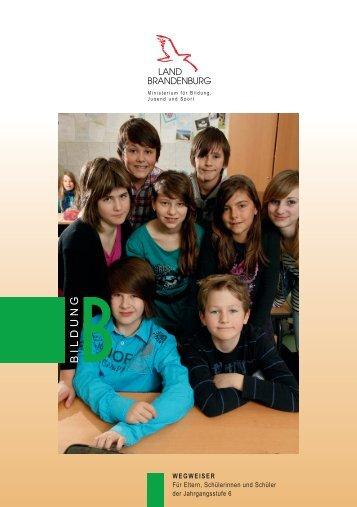 Wie weiter nach der Grundschule? - Ministerium für Bildung, Jugend ...