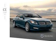 CL-Class Brochure - Mercedes Benz USA