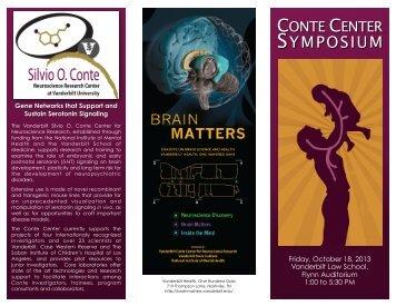 2013 Symposium brochure - Vanderbilt University Medical Center