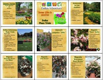 Dallas Plant Trials - Dallas Arboretum Trial Gardens