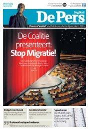 De Coalitie presenteert: Stop Migratie! - DePers