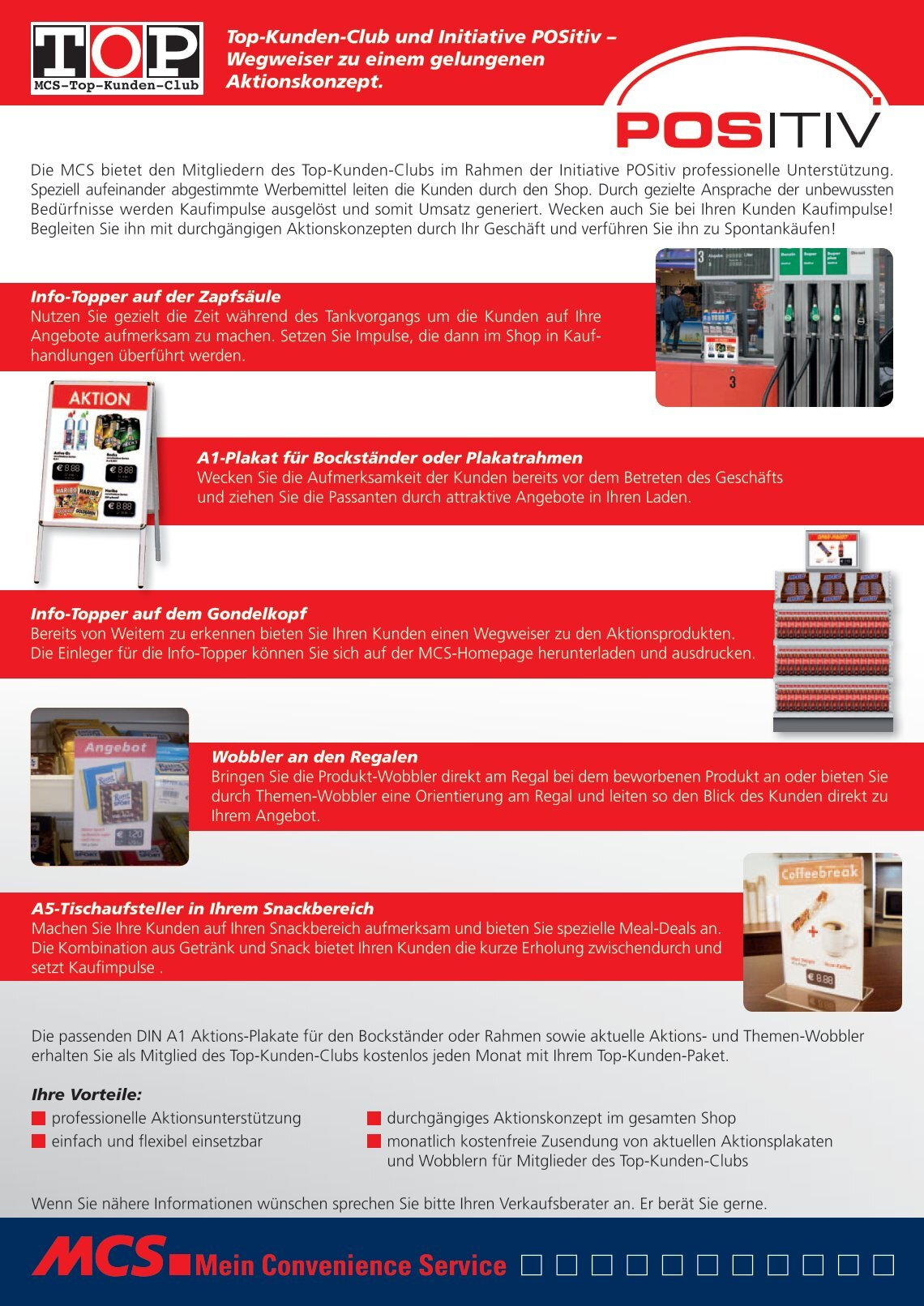 9 free Magazines from MCS.CONVENIENCE.DE
