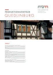 QUEDLINBURG - Mitteldeutsche Medienförderung GmbH