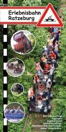 Flyer2011 - der Erlebnisbahn Ratzeburg