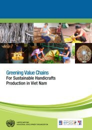 Greening Value Chains for Sustainable Handicrafts ... - MDG Fund