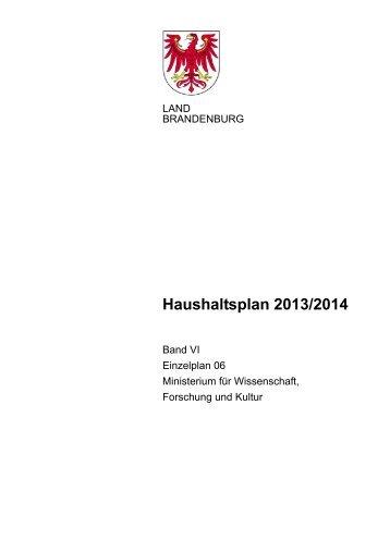 06_MWFK_2013-14.pdf - Ministerium der Finanzen