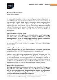 Missbildungen durch Glyphosat? Bericht: Andreas Rummel ... - MDR