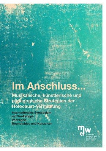 Programme - Universität für Musik und darstellende Kunst Wien