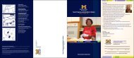 Turner Programs and Activities for Seniors - University of Michigan ...