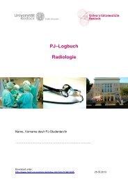 PJ–Logbuch Radiologie