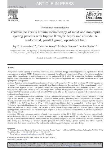 ARTICLE IN PRESS - University of Pennsylvania School of Medicine
