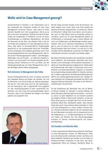 Editorial des Heftes - medhochzwei Verlag GmbH