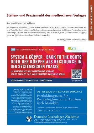 Deutsche Psychologen Akademie - medhochzwei Verlag GmbH