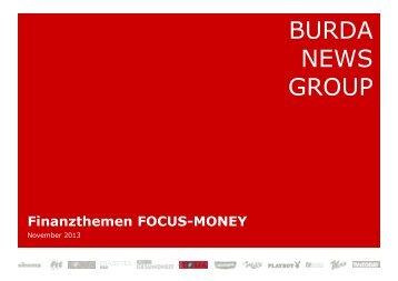 Finanzthemen FOCUS-MONEY - FOCUS MediaLine