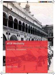 Newsletter 10 (2013) - NCCR Mediality