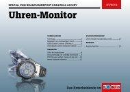 Uhren-Monitor - FOCUS MediaLine