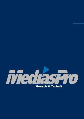 MediasPro Imagebroschüre