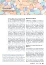 Fingolimod - Swiss Medical Forum