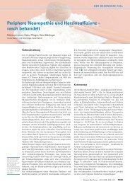 Periphere Neuropathie und Herzinsuffizienz – rasch behandelt ...