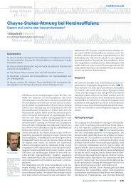 Cheyne-Stokes-Atmung bei Herzinsuffizienz - Swiss Medical Forum
