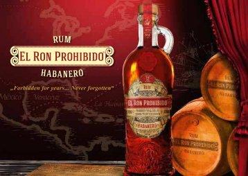 Prohibido Rum Booklet