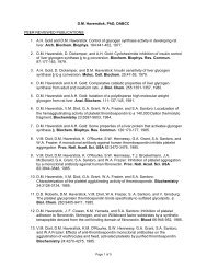 D.M. Haverstick, PhD, DABCC PEER REVIEWED PUBLICATIONS: 1 ...