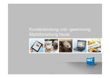 Marktforschung heute - Melina Thomas - MSP Medien Systempartner