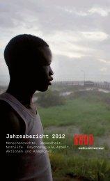 Jahresbericht 2012 - Medico International