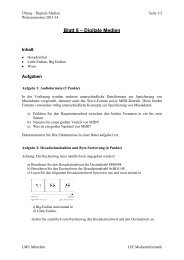 Hexadezimal, Wave - Medieninformatik - LMU München