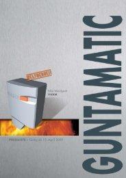 Preisliste 2009 - De Comfort Installateurs BV