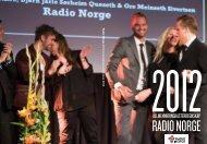Radio Norges allmennkringkasterregnskap 2012 - Medietilsynet