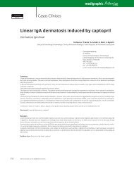Linear IgA dermatosis induced by captopril - edigraphic.com